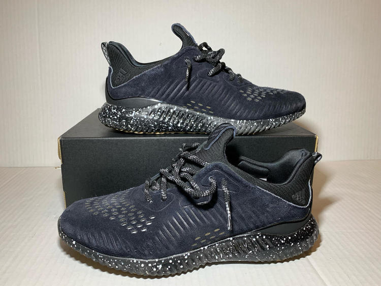 61d2c2bdee5db Adidas Alphabounce LEA Leather Shoes CQ1059 Men s size 10