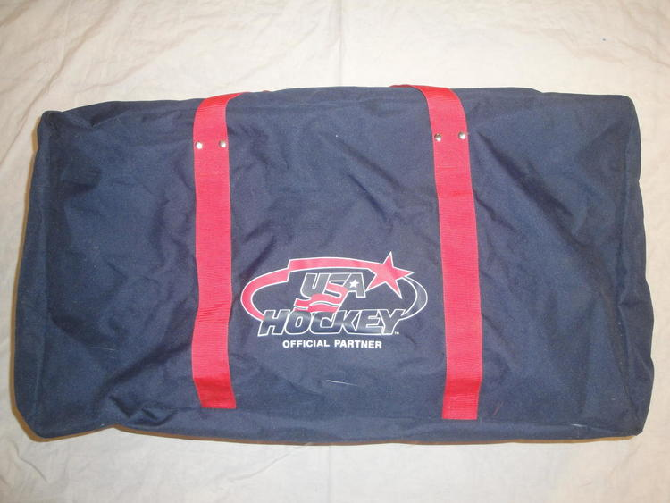 USA HOCKEY NIKE HOCKEY BAG NAVY RED TEAM USA - SOLD 3fddac00aad88
