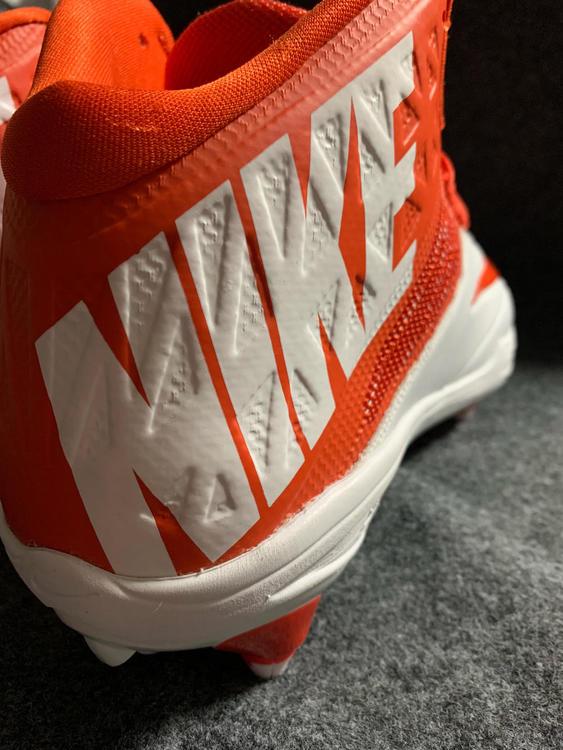118f1f9f8d809 Nike Men s Zoom Code Elite 3 4 Shark Cleats 603369-181 Orange Size 12.5
