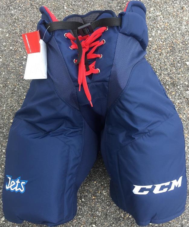 CCM HPUCLX Pro Stock Hockey Pants Winnipeg Jets Various Sizes 9310