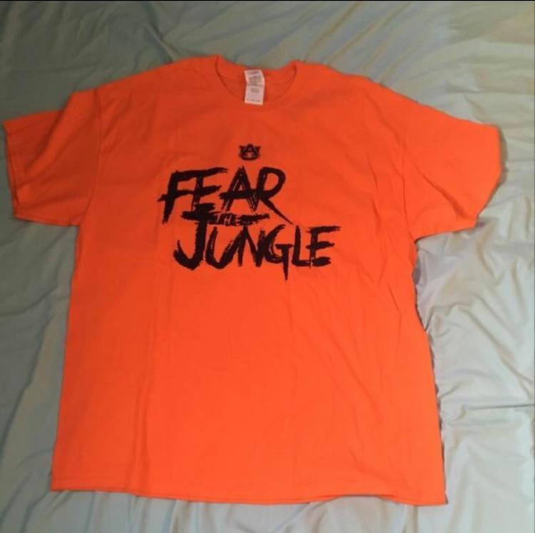 Auburn Fear The Jungle Shirt