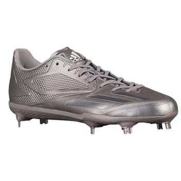 9b7d4e091e8e Adidas AFTERBURNER 3.0 CLEATS 10 METAL SPIKES SILVER DIPPED ...