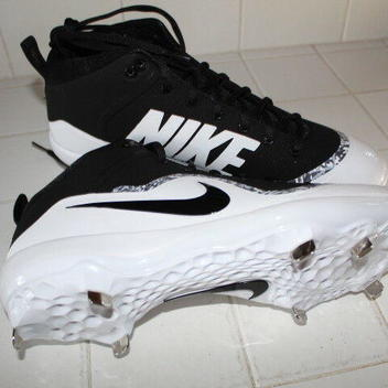2150e0e74863 Nike PRO MIKE TROUT IV 4 FORCE AIR CLEATS 11 METAL SPIKES BRAND NEW ...