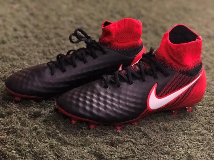 Nike Magista Orden II FG Cleats (Black