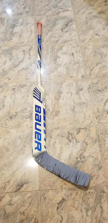 Bauer Supreme One 7 Composite Stick Sold Hockey Goalie Sidelineswap