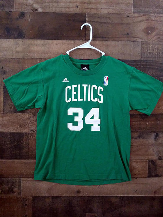 Adidas NBA Basketball BOSTON CELTICS  34 Paul Pierce Player Shirt - 15% OFF 76a10b235