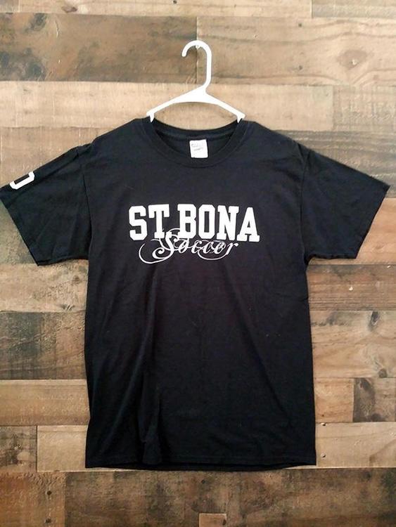 sports shoes d2826 48e0e NCAA College ST BONAVENTURE UNIVERSITY BONNIES #10 Soccer Player Shirt