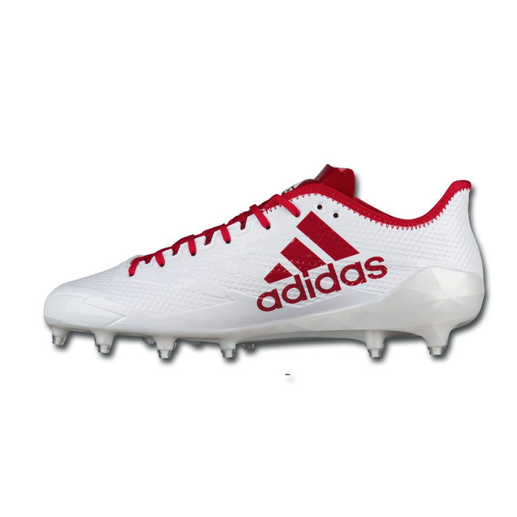 New Adidas Adizero 5 Star Low Cut Molded Football Cleats Bluewhite Mens Size 15