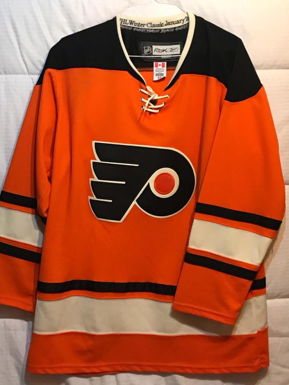 Reebok Philadelphia Flyers Blank 2012 Winter Classic Jersey  6d06725a5ba7