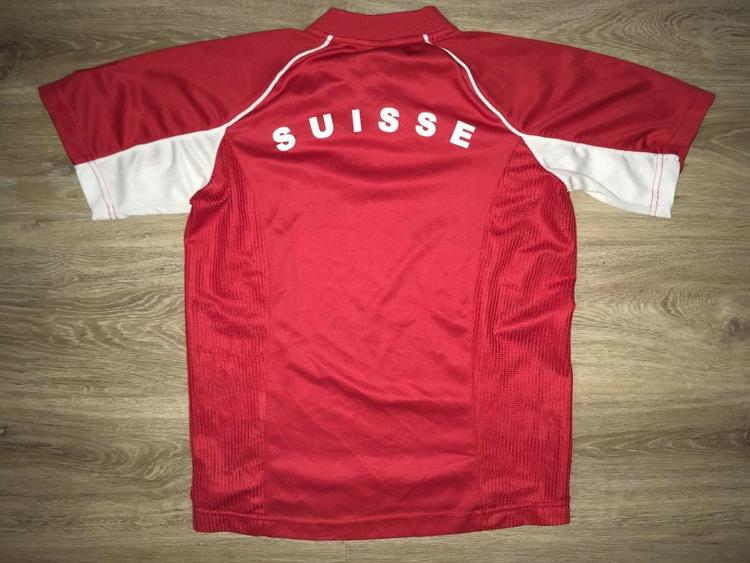 buy popular c032b a3da7 (YOUTH Medium) Switzerland National Team Jersey
