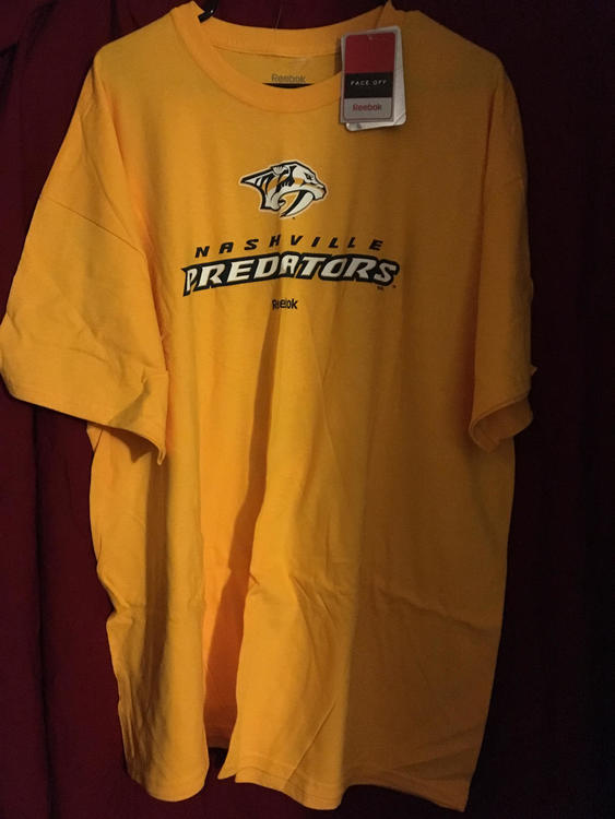 online store fa81a bce5a New Nashville Predators Pekka Rinne Reebok NHL Hockey XXL T-Shirt