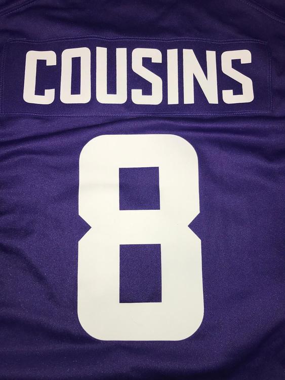 Nike Kirk Cousins Minnesota Vikings Jersey | Football Apparel