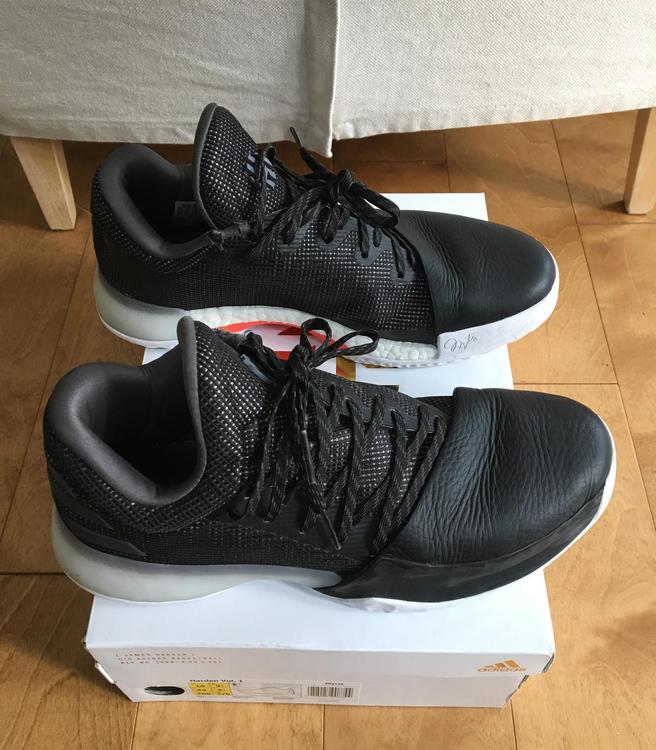 "9ae75effb2f Adidas Harden Vol 1 ""Black Diamond"""