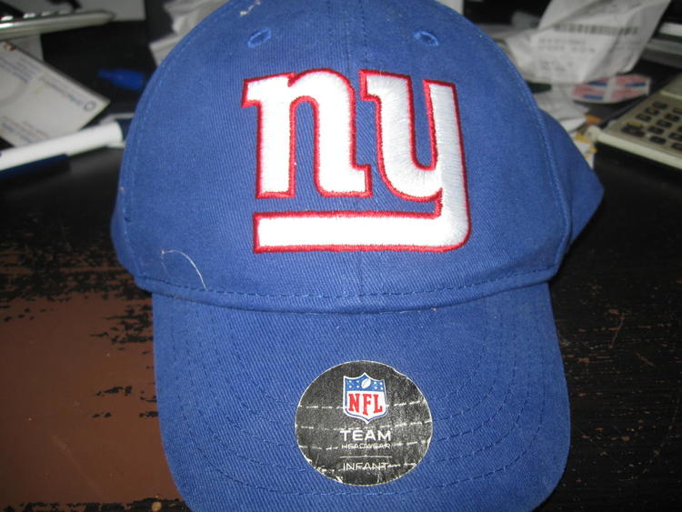 2e7f1e5dc1c NY GIANTS TODDLER (INFANT) HAT EMBRIODED!