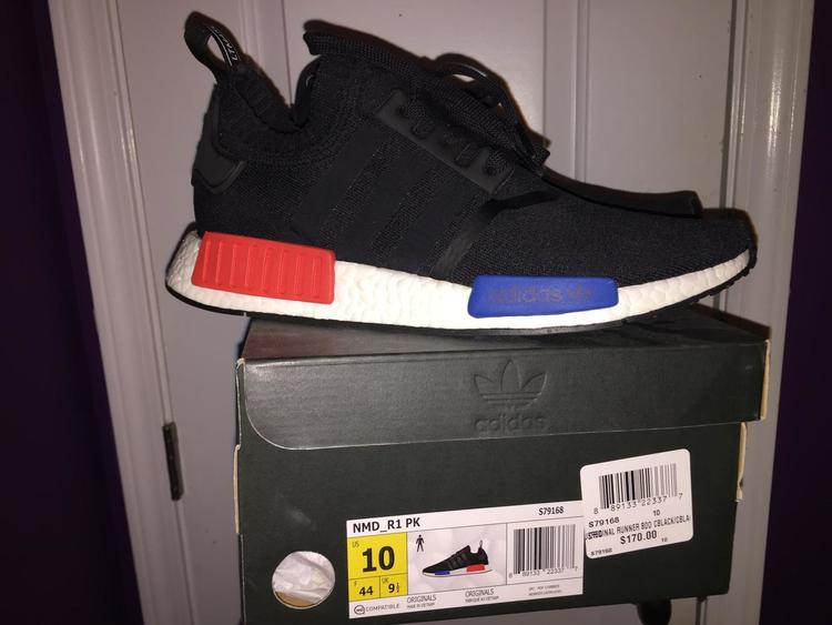3a856a4fd Adidas New NMD Primeknit OG Mens Size 10 Brand New DS