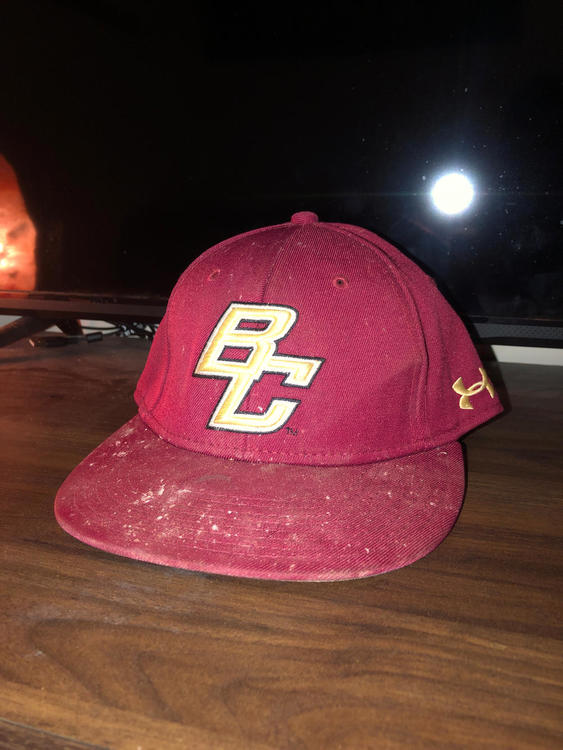 BOSTON COLLEGE UNDER ARMOUR HAT WORN IN THE SUPER 16 CWS - EXPIRED a6670acd52b5