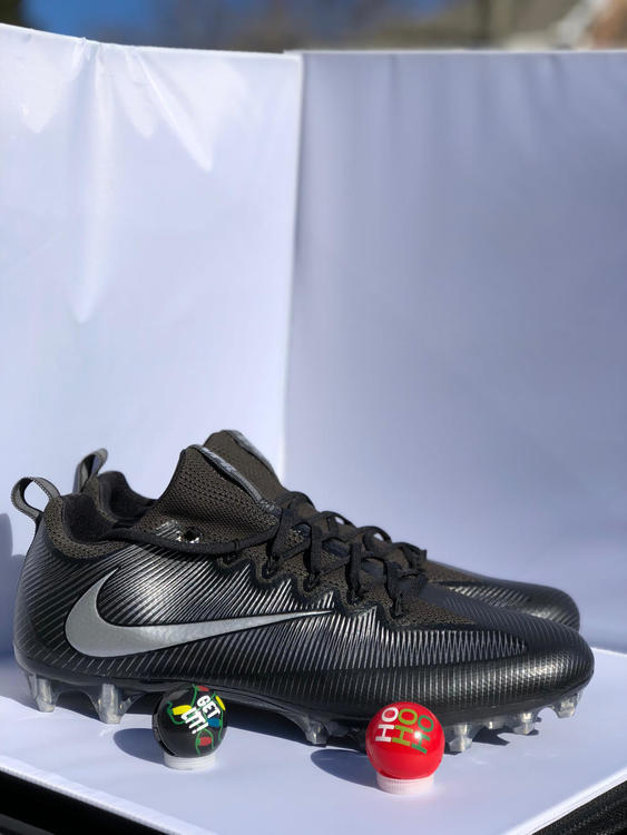 purchase cheap e56fa c04eb New Nike Vapor Untouchable Pro Football Cleats Black Metallic Men s Size 15   120. Related Items