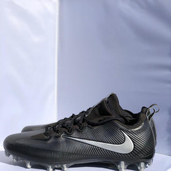 the latest 90042 2bdb3 New Nike Vapor Untouchable Pro Football Cleats Black Metallic Men s Size 15   120