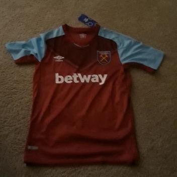 Umbro West Ham Soccer Jersey Chicarito Hernandez  17 960589c60
