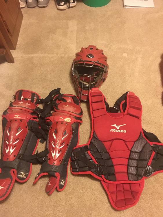 Mizuno Samurai Youth Full Catchers Gear Set Sold Baseball