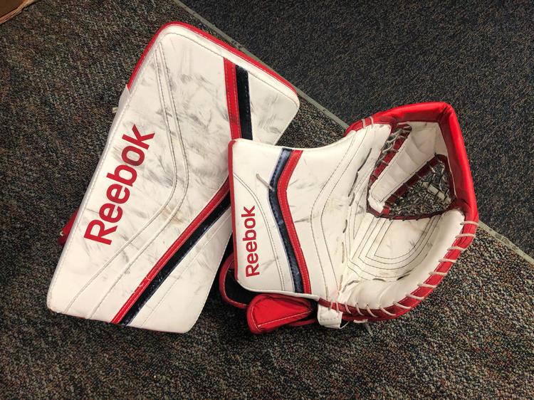 flota Pensativo maníaco  Reebok XLT Pro Stock Glove and Blocker | Hockey Goalie