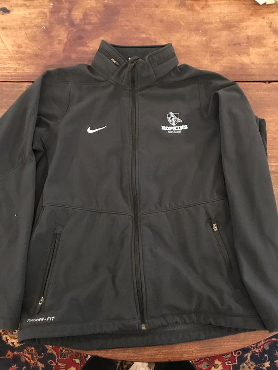 c9f4001ff787 Johns Hopkins Soccer Nike Therma Fit Jacket - 15% OFF