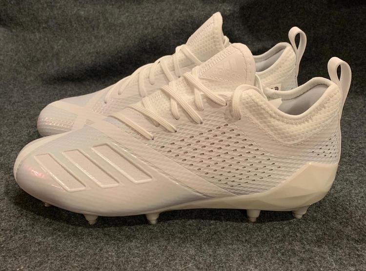 37f8516bb39 Adidas Adizero 5-Star 7.0 Football Cleats Men s White CQ0316 ...