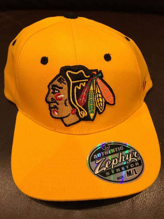 sale retailer 9507c 7bbe6 Chicago Blackhawks NHL Hockey Hat By Zephyr Size M L