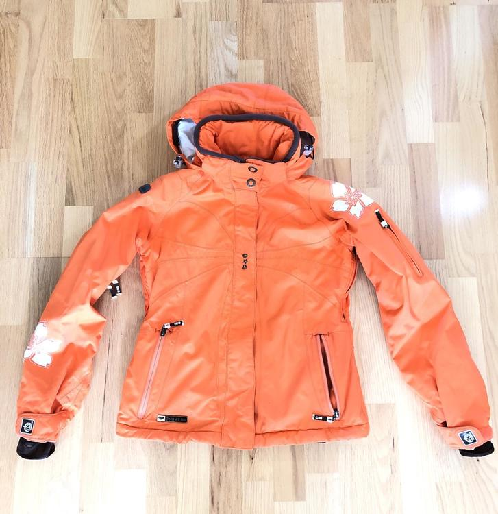 6bdc60945 Burton COLD AS ICE (S) Women's JACKET insulated Orange Flower - Great  Condition!
