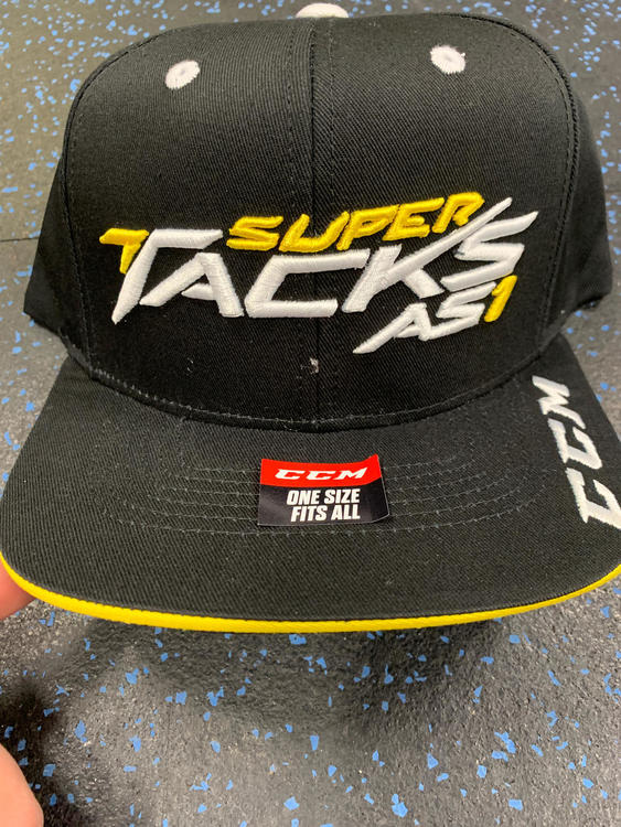 cf636da1b22 CCM New Super Tack As1 Hat Snap-Back One Size Fits All   Hockey ...