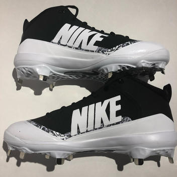check out 15a21 33e27 Nike Men s Force 917920-001 Air Trout 4 Pro Metal Mid Cleats Size 9 ...