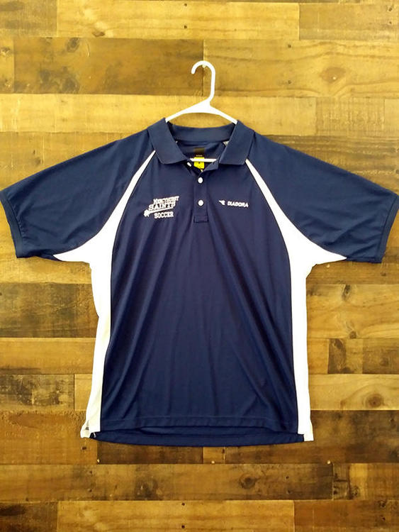 9b6c5453d9e New Diadora NCAA College MERCYHURST UNIVERSITY NORTH EAST SAINTS  Embroidered Soccer Polo Shirt