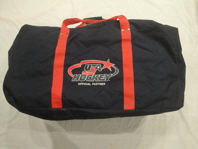 USA HOCKEY NIKE HOCKEY BAG NAVY RED TEAM USA 42181f220cbb2
