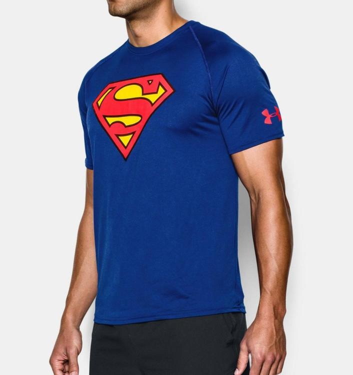 4f4c664e Under Armour Alter Ego Superman Core Shirt sz XXL 2XL 1249871 400 ...