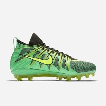 newest 31156 df07b Nike Alpha Menace Elite sz 15 Electro Green Volt 871519 337 Cleats ...
