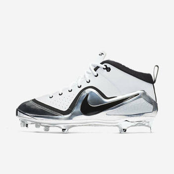 40598515b9d Nike Force Zoom Trout 4 10.5 ASG 917921 101 White Chrome Silver All ...