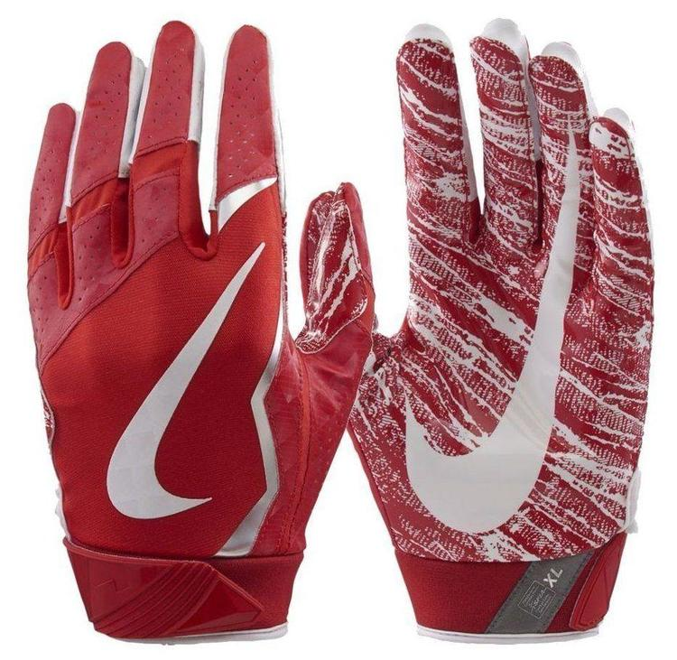sports shoes 7c544 5e874 Nike Vapor Jet 4 sz M MEDIUM GF0572 657 Receiver Football Gloves - Red White.  Related Items