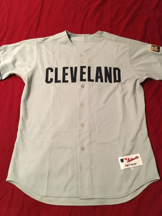 new arrival d9e22 2677e RARE 2007 Cleveland Indians Civil Rights Game Used #59 Matt Miller Baseball  Jersey