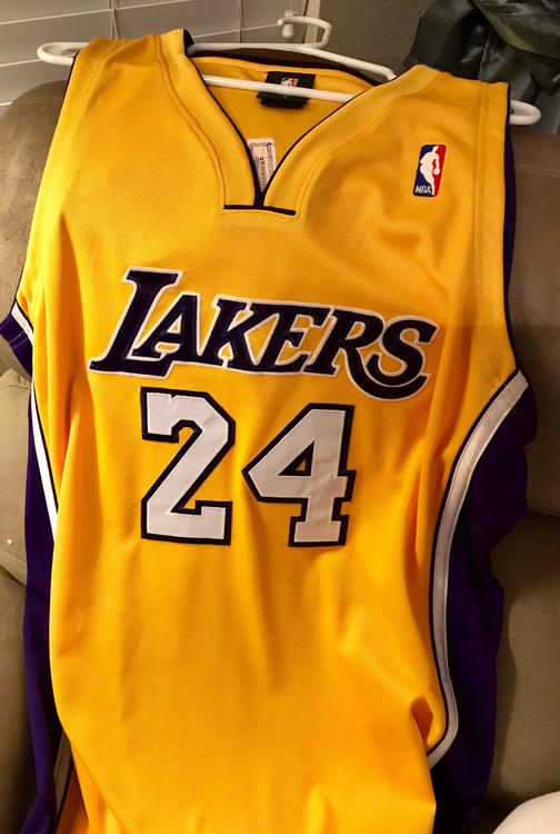 detailed look 0e852 70046 Kobe Bryant Authentic Lakers Jersey