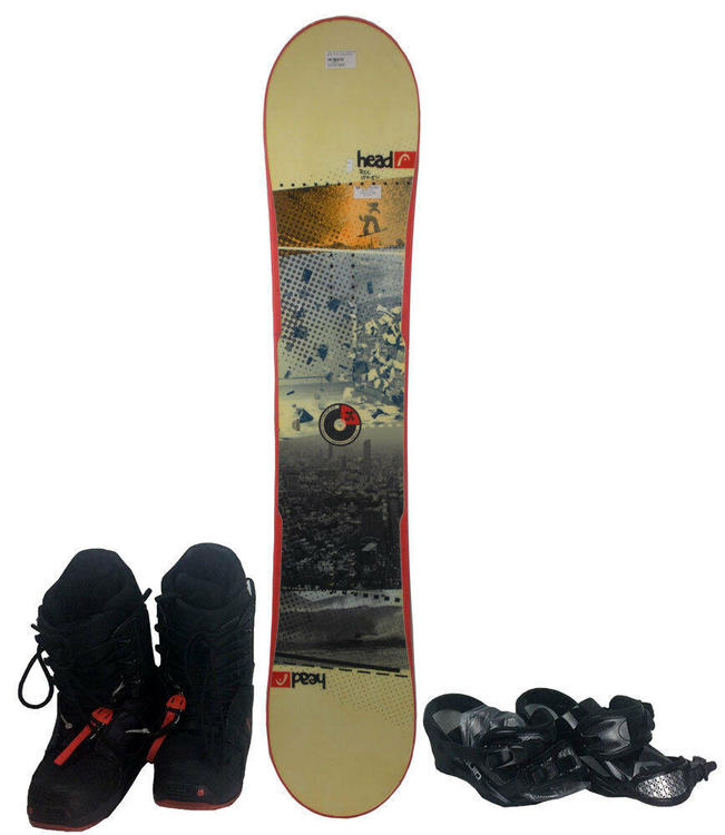 HEAD Flocka 4D 151cm Snowboard With Boots And Bindings