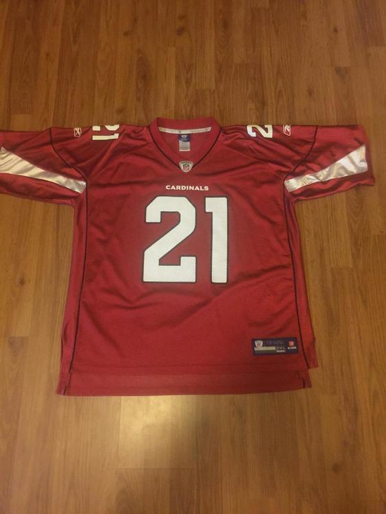 2d579ffe93c2 Arizona Cardinals Patrick Peterson  21 NFL Size XXL 2XL Reebok Football  Jersey! Related Items