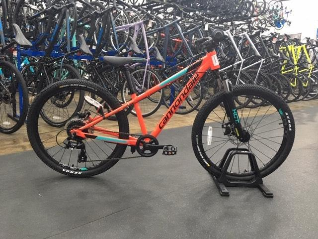 208919538c7 Cannondale 24 M Kids Trail 2019 Red | Bikes Complete Bikes | SidelineSwap