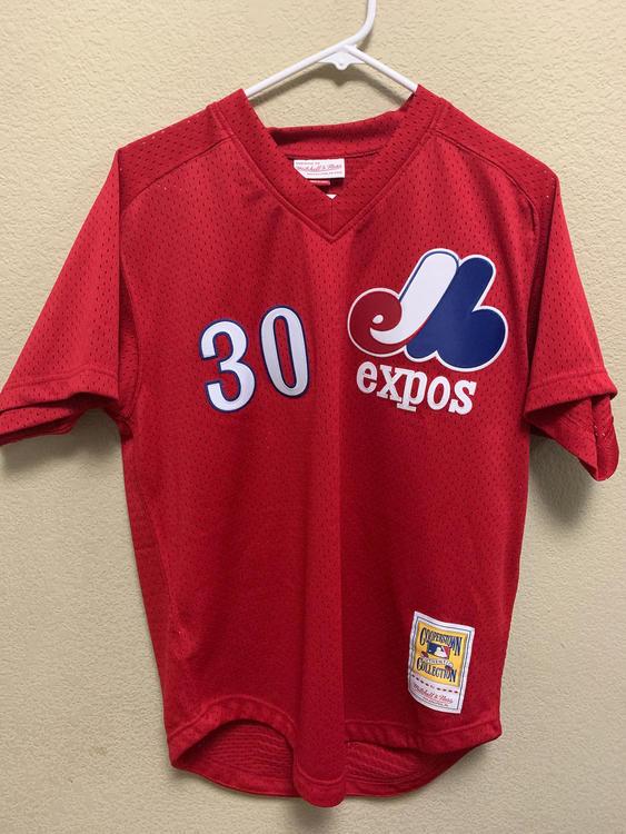 online retailer 39567 0798c Mitchell & Ness HOF 'Expos Jersey
