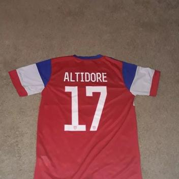 bbe7abc8d7b Nike 2014 USA World Cup Jersey Jozy Altidore  17