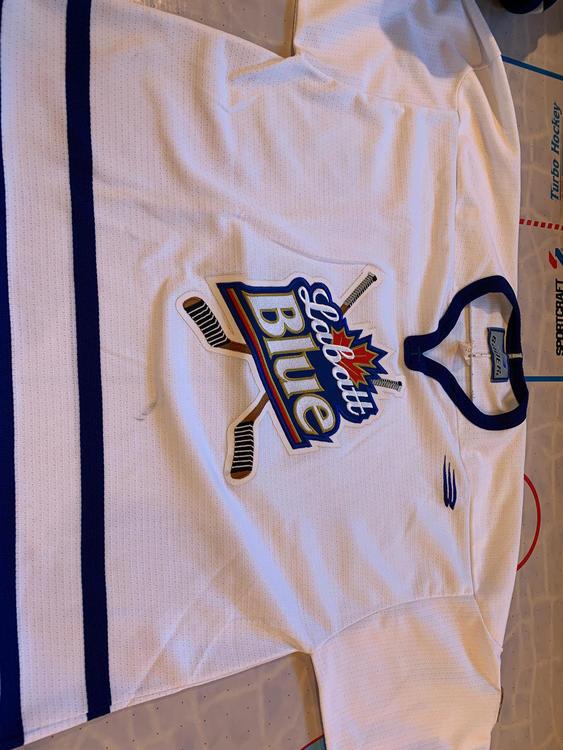 Labatt Blue Hockey Jersey - SOLD 96eaad21956