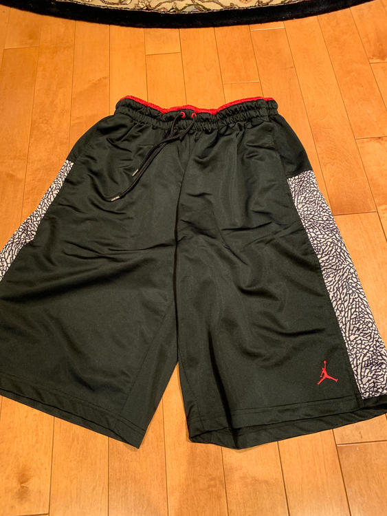 31bdeb752230a9 Nike Black Jordan Shorts