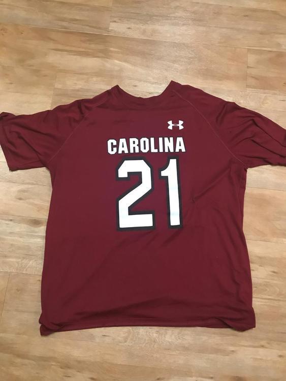 66de344bd Under Armour USC Gamecocks South Carolina Shooter Shirt. Related Items