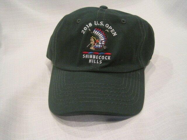 2018 US Open Shinnecock Hills baseball hat green NEW  c713dd31e18