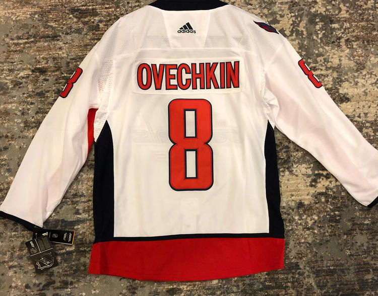 buy popular dacf5 974bc ALEXANDER OVECHKIN #8 Washington Capitals Replica Game Jersey
