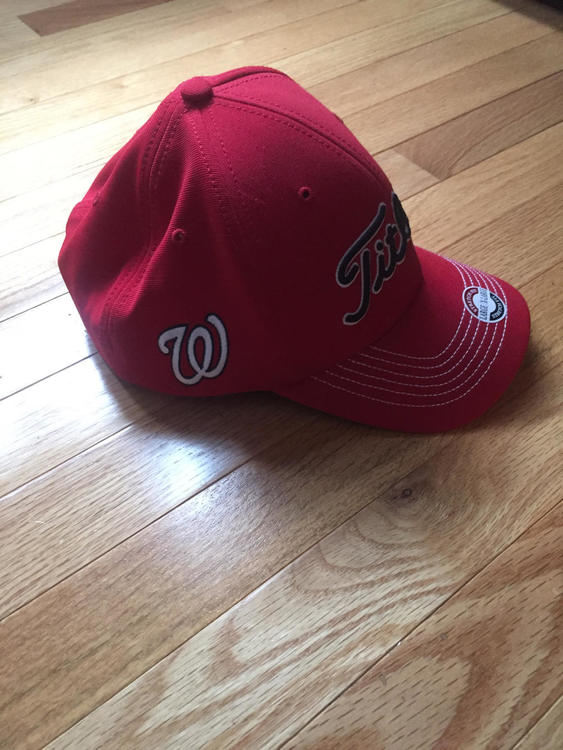 check out ef0ef 6b386 ... czech titleist washington nationals hat golf hats visors sidelineswap  cb9db b24b7